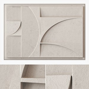 Extra Large Relief Artwork 3D
