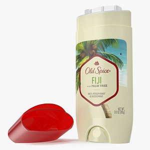 Old Spice Invisible Solid Deodorant Fiji 3D