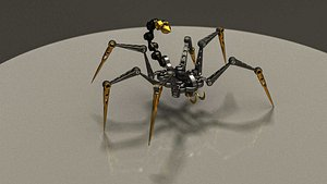 3D model Arachnoid Mecha