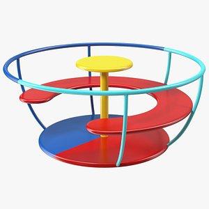 Teacup Spinner 3D