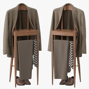 clothing stand jacket 3D