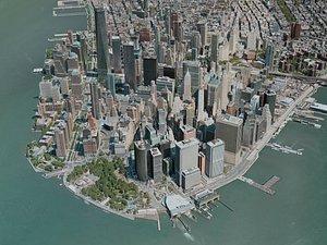 3D new york city lower