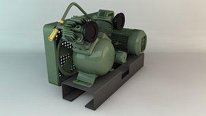 3D Compressor Engine