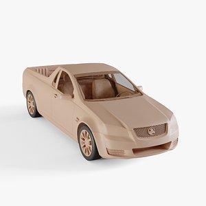 3D model 2012 Holden Commodore SS Ute