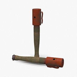 grenade german 1916 3D