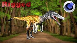 3D model raptor