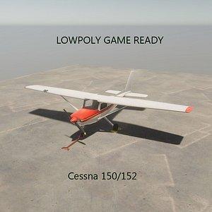 3D model cessna 150