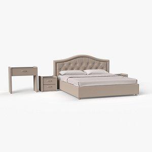 3D Bed Rotonda model