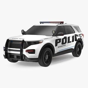 Police Interceptor SUV Exterior Only model