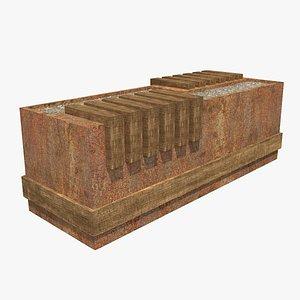 Urban bench model
