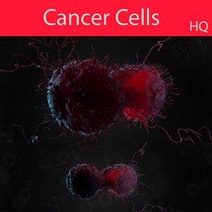 Cancer cellV02 3D model