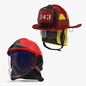 3D helmets protective headware