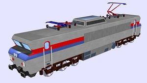 cc 21000 electric locomotive 3D model