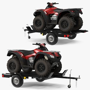 3D Trailer with ATV
