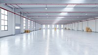 Industrial Warehouse Interior 12