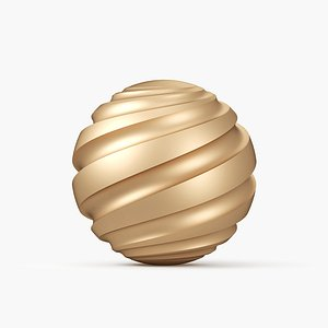 sphere spiral 3d model