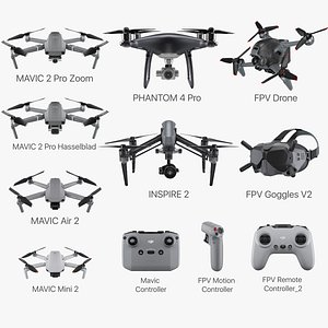DJI Collection 2021 3D