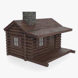 3D model house building architecture