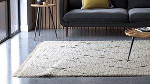 3D rug uses corona hair fur