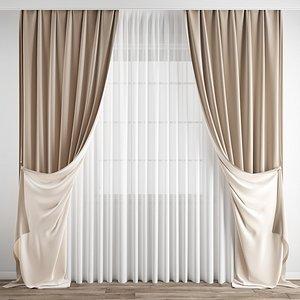 3D Curtain167