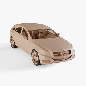2010 Mercedes-Benz Shooting Brake 3D model