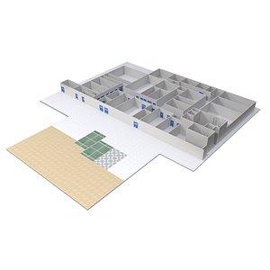 Floor Plan 02 model