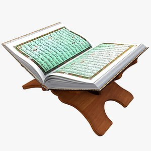 Holy Quran Book With Holder