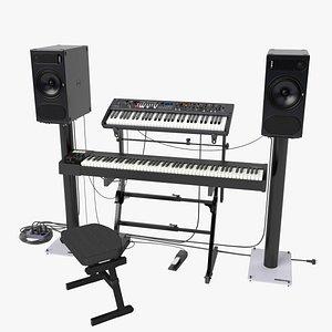 Keyboard Studio 3D