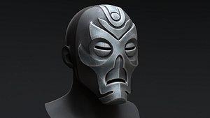Skyrim Dragon Priest Mask - Vokun model