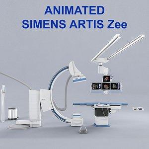 3D model angiography siemens artis