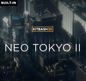 3D Neo Tokyo 2 model