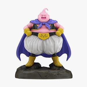 Majin Buu Fat Statue 3D model