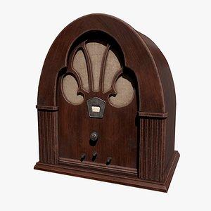 Retro radio model