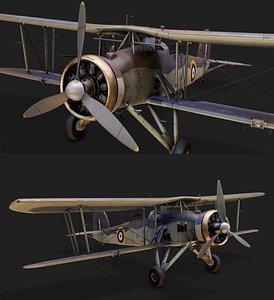 Fairey Swordfish Mk-1 3D model