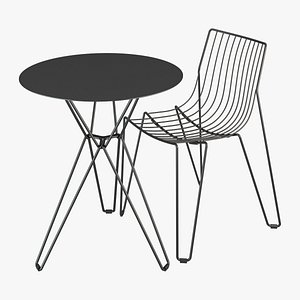 3D Massproductions Tio Chair And Table