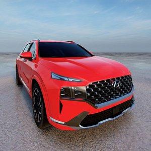 2021 Hyundai Santa Fe 3D model