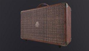 3D GPO Westwood Brown 25 Watt Speaker