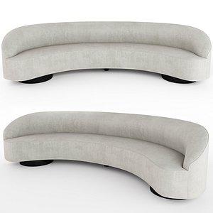 sloane sofa vladimir 3D model