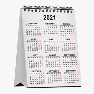 calendar 3D model