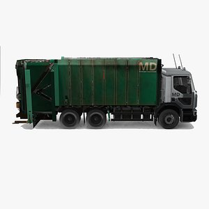 Garbage Collection Truck 3D model