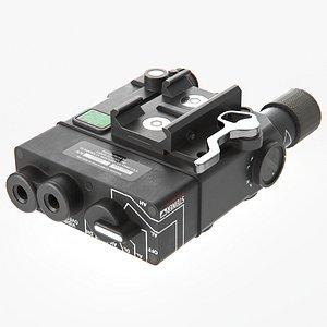 Steiner eOptics DBAL-A3 Dual Beam Aiming Laser 3D model