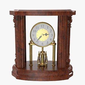 classical table clock model