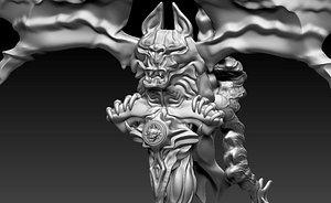 3D Bat model