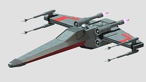3D x wing model
