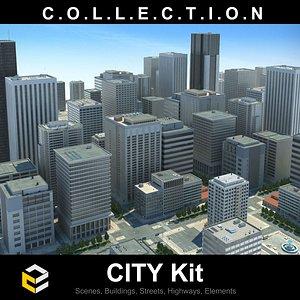 City Kit by 3dm Kits vol1 model