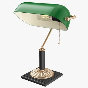 3D model desk lamp s