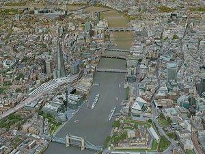 london city 3D