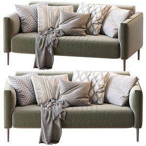 sofa tuxedo 3D model