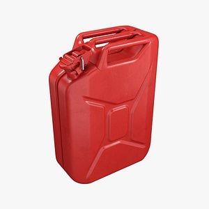 canister gasoline gas 3D model