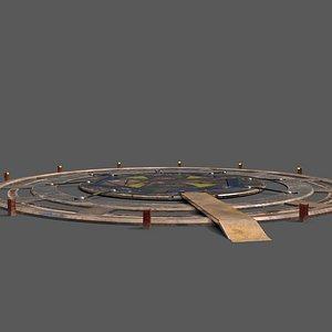 3D pad model